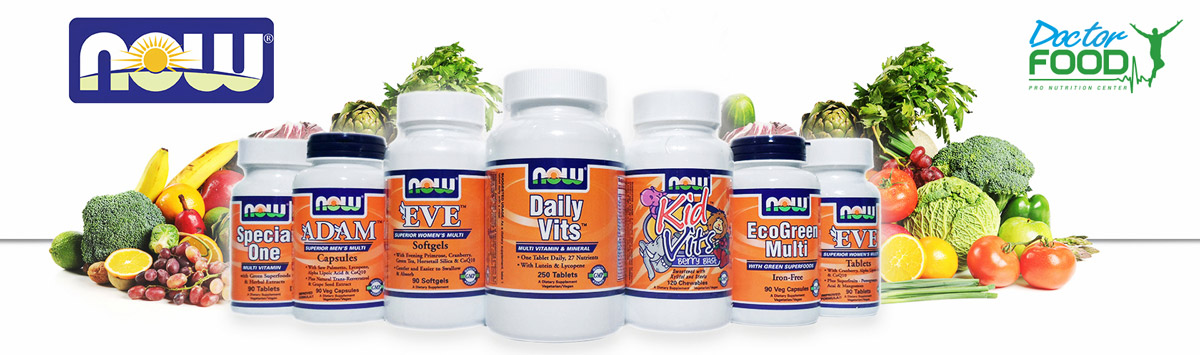 Now Foods integratori alimentari e vitamine