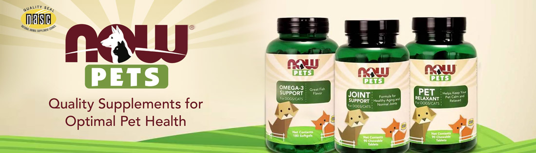 Now Pets integratori alimentari per animali